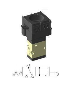 Zawór sterowany przyciskiem 3/2 M5