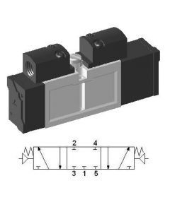 Pneumatyczny zawór ISO SIP233