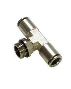"""Trójnik wtykowy 6mm - 1/4"""""""