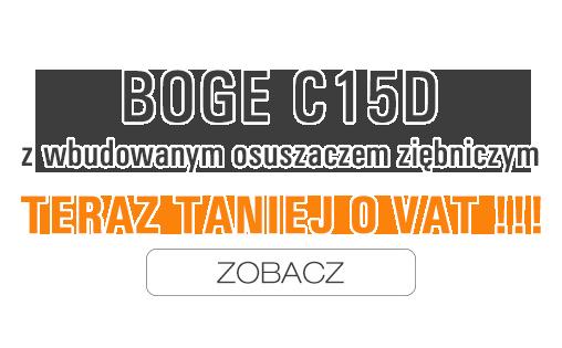 Sprężarka Boge C15D tańsza o VAT!