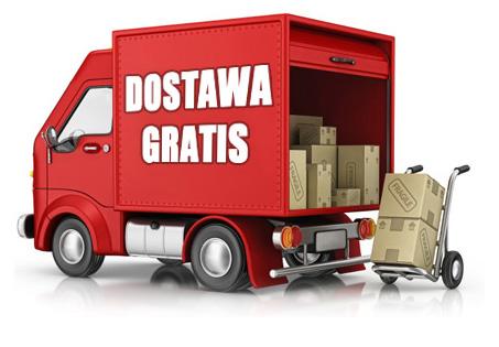 Darmowa wysyłka towarów już od 500zł